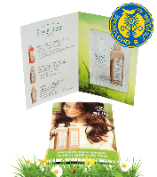 Натуральный бальзам  White Mandarin для всех типов волос целебные травы (пробник)