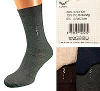 Мужские носки высокие. Nanhai A-116 р. (41-45). В упаковке 12 пар