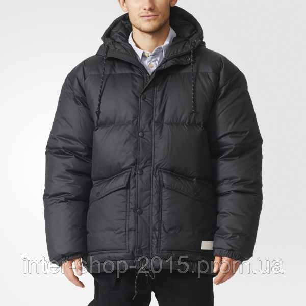 159a457bbea1e Мужской пуховик Adidas Heavy Down Puffer Jacket AA9027: продажа ...