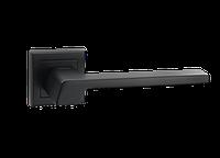 Дверная ручка на розетке MVM A-2016 BLACK (черный)