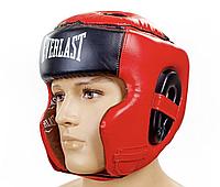 Шлем для бокса и единоборств Everlast Premium NEW! M-L-XL , фото 1