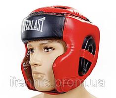 Шлем для бокса и единоборств Everlast Premium NEW! M-L-XL