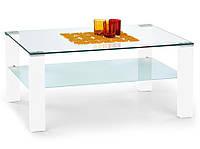 SIMPLE столик журнальный в гостиную белый HALMAR