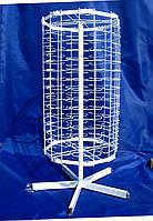 Металлическая стойка вертушка настольная Усиленная 120 мест для продажи очков