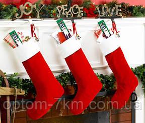 Новогодний Сапожок для Подарков Рождественский Сапожок