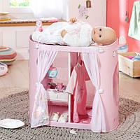 Оригинал. Шкаф и Пеленальный стол центр 2 в 1 для куклы Baby Born Annabell Zapf Creation 794111