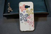 Чехол бампер силиконовый Samsung SM-A320F (Galaxy A3 Duos 2017) с рисунком