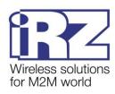 Беспроводной компактный двухдиапазонный (900/1800 МГц) GSM/GPRS-модем IRZ ATM2-485