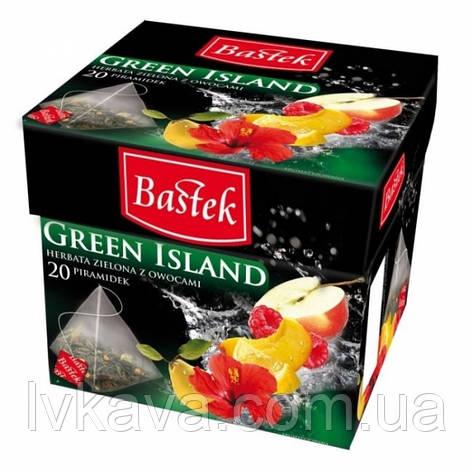 Чай зеленый  Zielona Wyspa  Bastek, 20 пак, фото 2