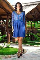 """Д3072 Гипюровое платье """"Азиза"""", фото 2"""