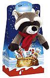 Новогодний набор сладостей Kinder Maxi Mix с мягкой игрушкой, 133 г., фото 2