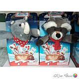 Новогодний набор сладостей Kinder Maxi Mix с мягкой игрушкой, 133 г., фото 3