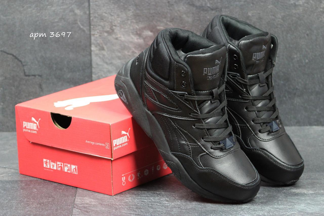 7c8df2982 Мужские зимние кроссовки Puma Trinomic черные ( Реплика ААА+) - bonny-style  в