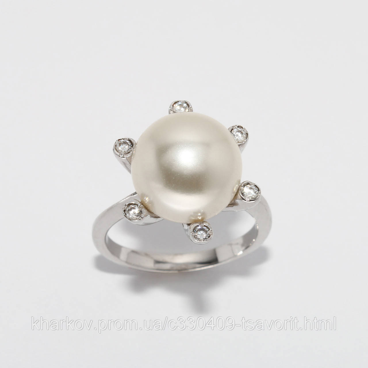 Серебряное кольцо 182КЮ