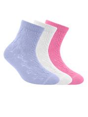 Носки для девочки ажурные Conte  MISS 7С-76СП , размер 16, 111 , 85% хлопок