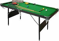 Бильярдный стол Manhattan складной 2в1 Пул/Снукер 6 Ft