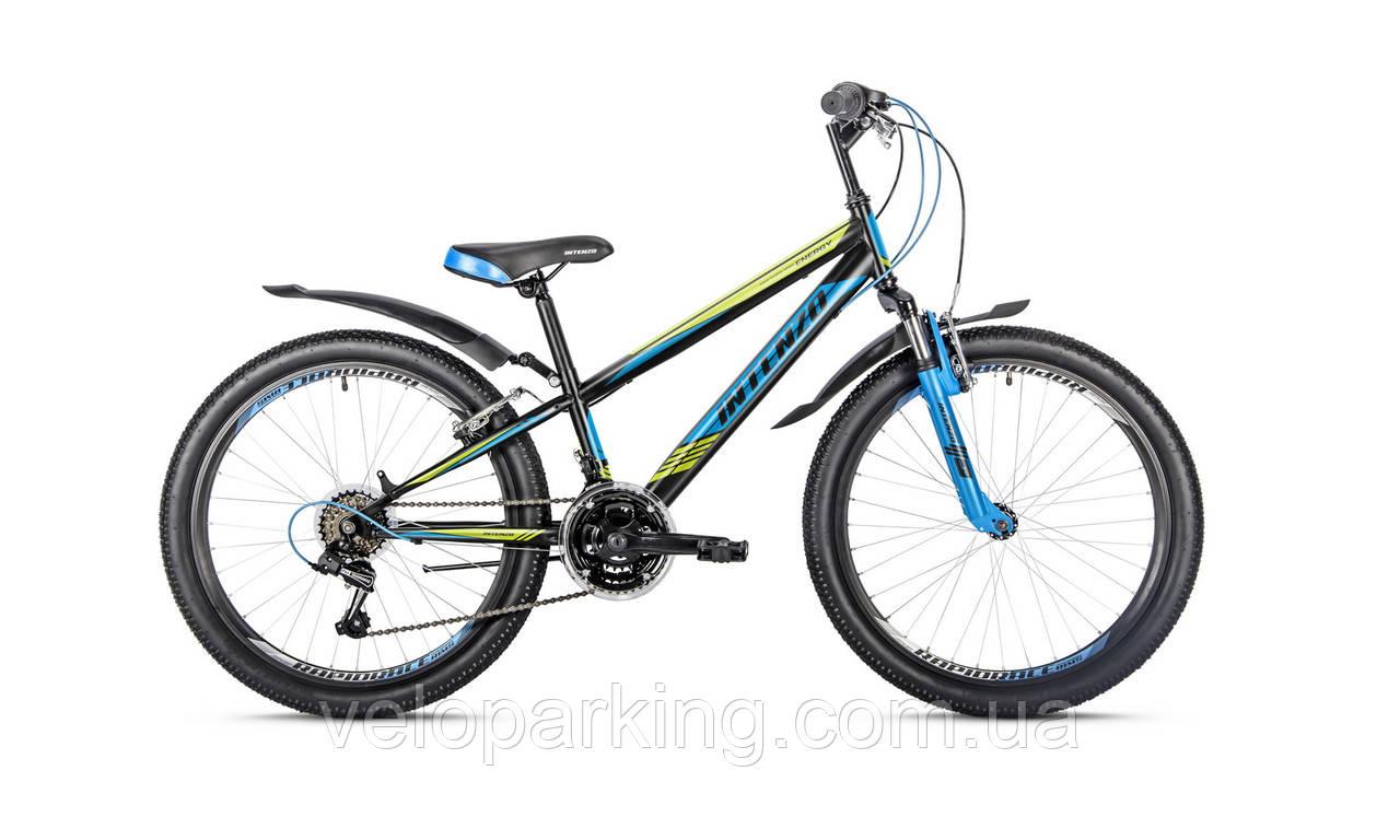 Горный подростковый велосипед Intenzo Energy 24 VB (2018) new