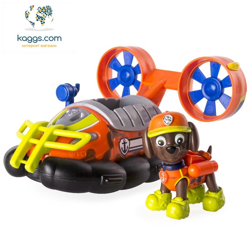 Щенячий патруль:  спасательный автомобиль с водителем (серия «Джунгли»)  Зума SM16702-6 Spin Master