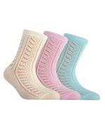 Носки для девочки ажурные Conte  MISS 7С-76СП , размер 22, 114 , 85% хлопок