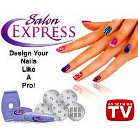 Маникюрный набор для узоров Nail Art Stamping Kit, набор для стемпинга, стемпинг