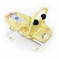 Детский шезлонг-качалка TILLY  BT-BB-0001 BEIGE. Гарантия качества. Быстрая доставка.