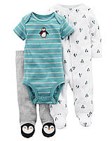 Комплект для новорожденных 3 в 1 Carters