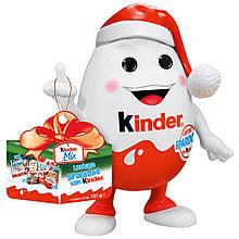 Новогодний Kinderino Kinder mix набор сладостей, игрушка- копилка, 131 грамм