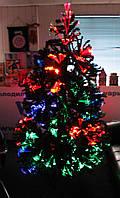 Светящаяся, оптоволоконная сборная елка 2 м pr01