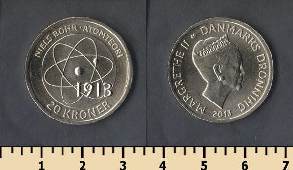 Данія 20 крон 2013