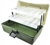 Ящик рыбацкий для снастей органайзер на 2 полки