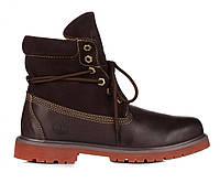 Ботинки Timberland Bandits Brown (ботинки тимберленд) коричневые
