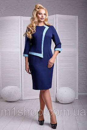 Женское элегантное платье для полных (Корнелия lzn), фото 2
