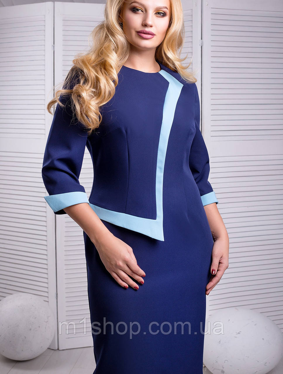 Женское элегантное платье для полных (Корнелия lzn)