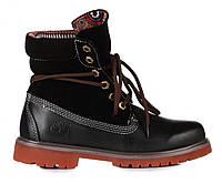 Ботинки Timberland Bandits Black (ботинки тимберленд) черные
