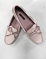 Макасины женские Louis Vuitton розовые, фото 1