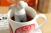 Силиконовый заварник для чая Mr. Tea, заварник-человечек Мистер Чай, фото 1