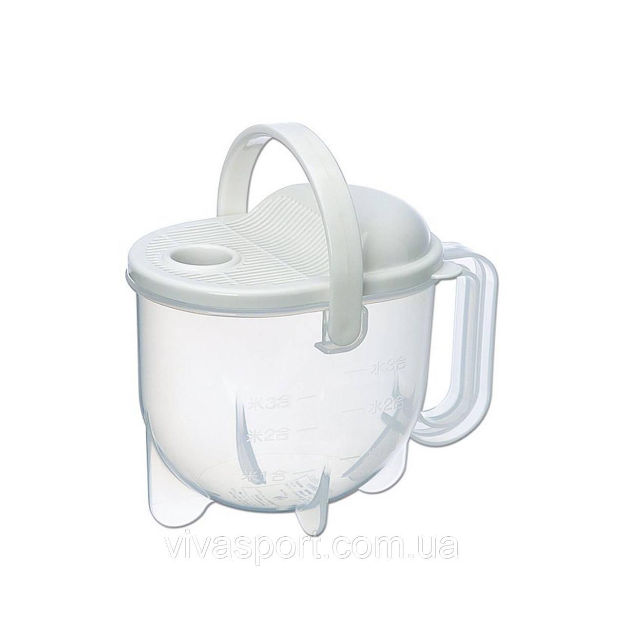 Прибор для промывки риса и круп, емкость для промывании рисомойка