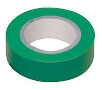 Ізолента ПВХ ІЕК 0.18х19 мм зелена 20м