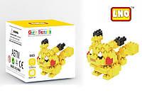 Блочный конструктор LNO Покемон Пикачу, лучшая развивающая игрушка