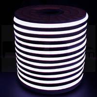 Светодиодный LED гибкий неон 2835\120 IP68 220V, бухта, 50 м
