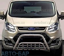 Кенгурятник на Ford Custom (c 2012---) Форд Кастом PRS