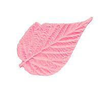 "Молд (молды) лист ""Малины"" 8.5x5.3 см для Фоамирана, полимерной глины"
