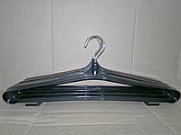 Вешалка плечики для зимней одежды с поворотным крючком