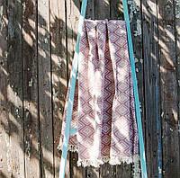 Плед-накидка Barine 130х170 - Diamond Throw burgundy бордовый