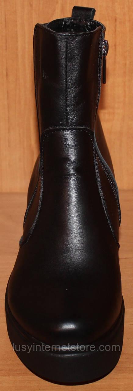 bdb50a143cdb ... Зимние ботинки женские широкий каблук, женская обувь зима от  производителя модель НБ5, ...