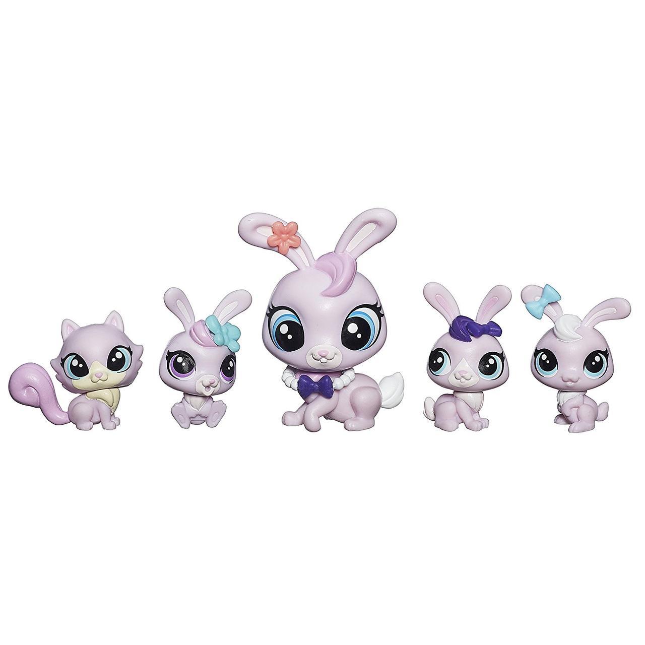 Hasbro Littlest Pet Shop Большая семейка - Кролики