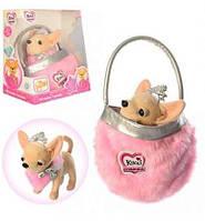 Собачка Кики в сумке М 3481 аналог Chi Chi Love Чихуахуа