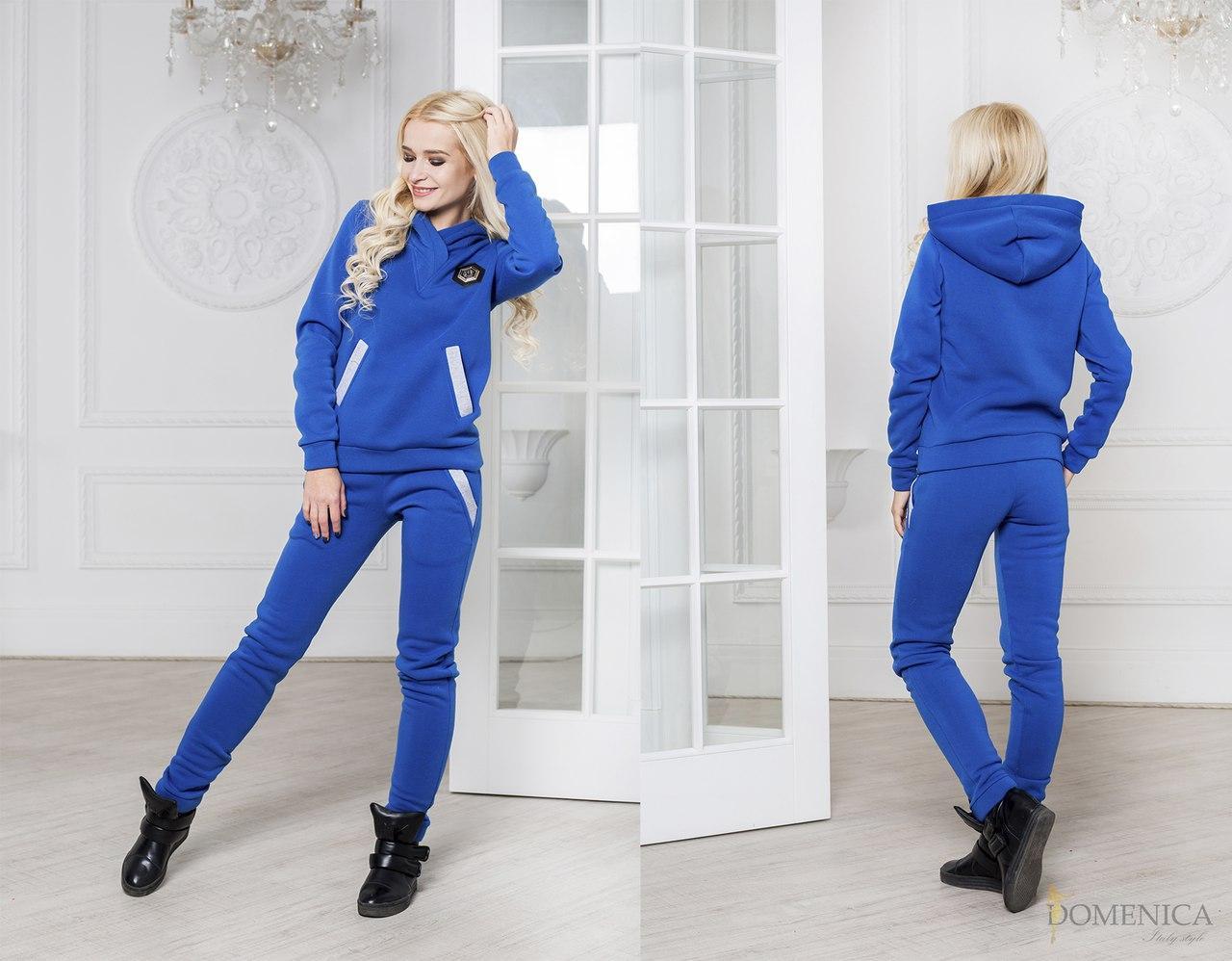 22b6314a189 Женский теплый спортивный костюм из трехнитки на флисе 3105150 -  Интернет-магазин одежды
