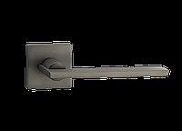 Дверная ручка на розетке MVM Z-1450 MA (матовый антрацит)