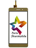 Сенсор (Тачскрин) для мобильного телефона Bravis A552 Joy Max, золотой